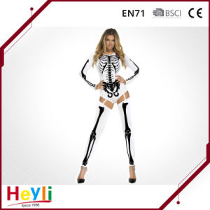 Distinctive Halloween Party Skeleton Costume for Women Girls pictures & photos