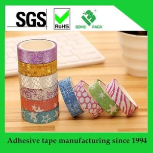 DIY Custom Design Printing Washy Paper Tape for Gift Decoration pictures & photos
