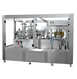Filling Machine Labeling Machine High Speed Complete Full Automatic Bottle Line pictures & photos