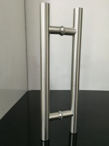 SSS/Satin Brushed Color Stainless Steel Hinges Round Tube Door Handles pictures & photos