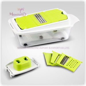Multi-Function Stainless Steel ABS Fruit Vegetable Tools Veggie Slicer pictures & photos