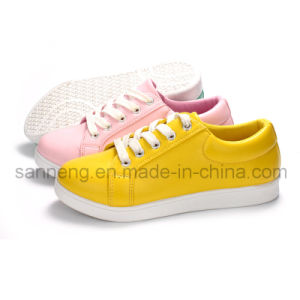 Casual Women Shoes with Injected Outsole (SNC-45033) pictures & photos