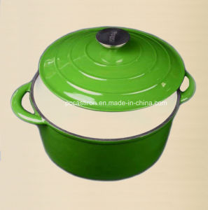 2.5L Cast Iron Casserole Stock Pot Manufacturer From China pictures & photos