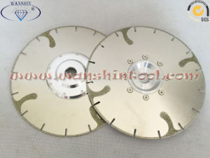 Electraoplted Diamond Cutting and Grinding Disc Diamond Tool pictures & photos