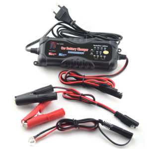 3/6A 12V/24V Auto Smart Battery Charger pictures & photos