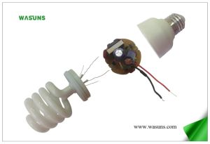 8000 Hours Half Spiral SKD Energy Saving Lamp pictures & photos