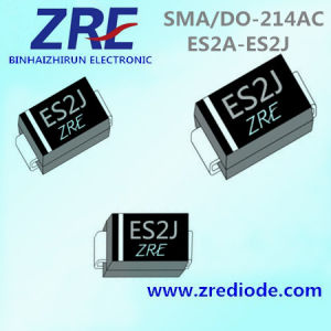 2A Es2a Thru Es2j Super Fast Recovery Rectifiers Diode SMA/Do-214AC Package pictures & photos