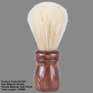 Chongqing Bristle Hair Wooden Handle Large Quantity Wholesale Shaving Brush pictures & photos