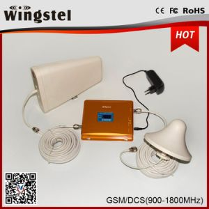 Dual Band GSM Dcs 2g 3G Mobile Signal Booster with Antenna pictures & photos