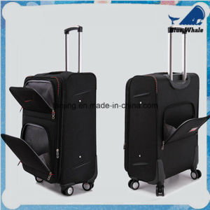 Nylon Luggage Trolley Case Suitcase Trolley Luggage Bag pictures & photos