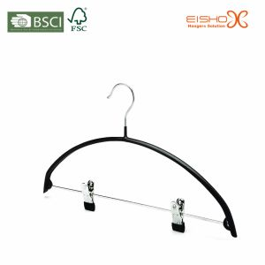 High Quality Metal Suits Hangers with Clips (TS213) pictures & photos