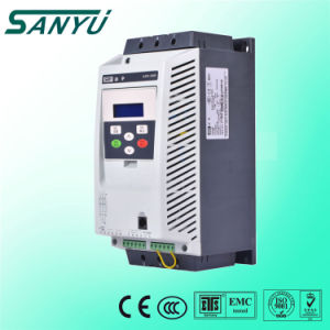 Sanyu Three Phases 400V Intelligent 22kw Soft Starter with Built-in by-Pass Connector for Water Pumps Sjr2-3022 pictures & photos