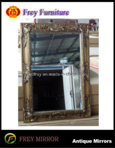 Hot Sale Woodenwall Mirror Frame with Antique Design