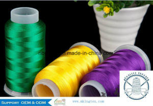 100% Polyester Embroidery Threads with 150d/2 1000m pictures & photos