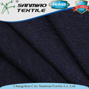 Indigo 210GSM Knitted Slub Jersey Fabric pictures & photos