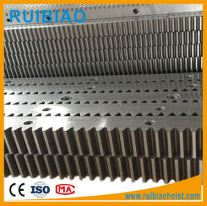 High Precision Galvanized Steel Spur Gear Gear Rack and Pinions pictures & photos