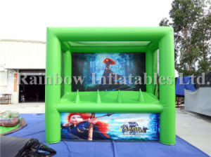 Green Arrow Inflatable Archery Shooting Game with Floating Balls pictures & photos