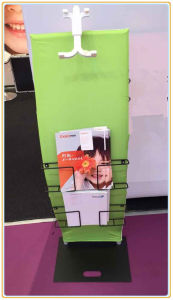 Brochure Stand with iPad Stand and Fabric Printing Graphic pictures & photos