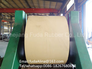 White Rubber Conveyor Belt pictures & photos