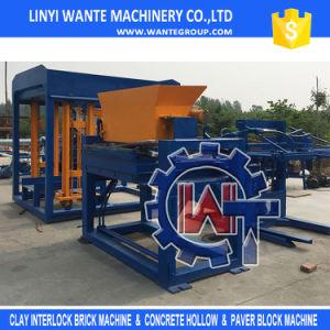 Wante Machinery Concrete Hollow/ Solid/ Paver/ Interlocking Brick Machine (QT6-15) pictures & photos