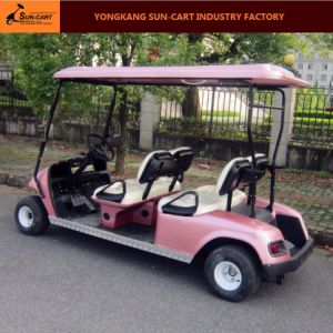 Four Passenger Electric Golf Cart for Golf Course and Hotel pictures & photos