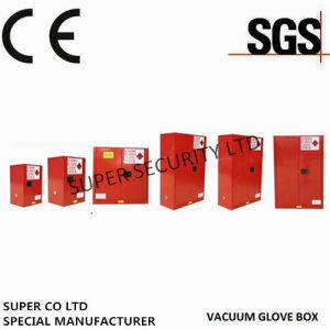 Red Paint Ink Chemical Hazardous Storage Cabinet for Storing Paint, Ink
