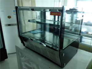 Table Top Cake Display Cooler Refrigerator in Convenient Shops pictures & photos