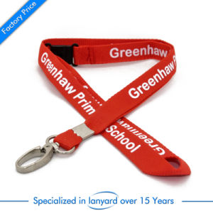 Mobile Phone Strap Printed Polyester Lanyard pictures & photos