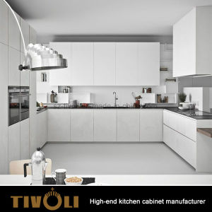 Pre Assembled Kitchen Cabinets with Clean High Gloss Painting design Tivo-0135h pictures & photos