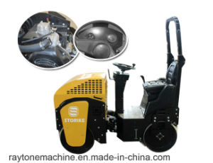 St1000 1 Ton Vibratory Roller Ride on Road Roller pictures & photos