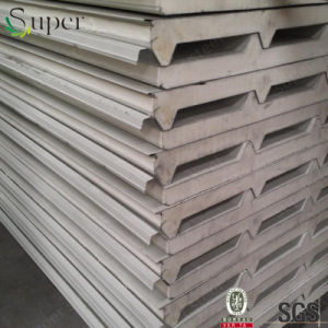 Fireproof Cheap PU Foam Sandwich Wall Panel Board pictures & photos