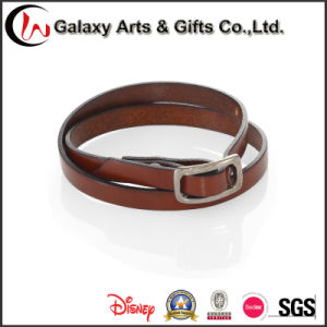 Wholesale Custom Man Women Leather Bracelets Charm Bracelets pictures & photos
