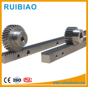 High Precision CNC Made Gear Rack and Pinion with Zinc Plated pictures & photos
