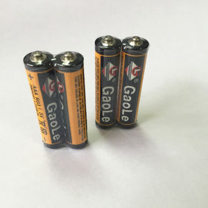 AAA Carbon Zinc Battery R03 Um4 Picture of Real Products pictures & photos