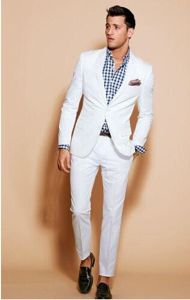 Made to Measure Men White Tuxedo Suit pictures & photos