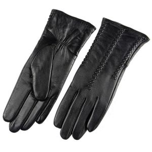 Genuine Leather Full Finger Gloves pictures & photos
