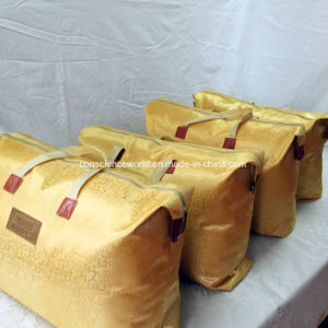 100%Mulberry Silk Jacquard Cotton Quilt Cover Silk Quilt pictures & photos