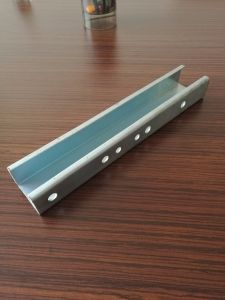 Unistrut C Channel Steel Dimensions Metal Framing with Fittings for Exporting pictures & photos