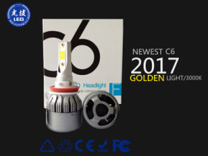 2017 Newest C6 3000k Fog Light pictures & photos