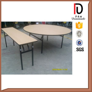 Modern 5 FT 6FT Folding Plywood Hotel Table (BR-T078) pictures & photos