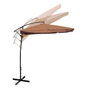 Adjustable Outdoor Garden Patio Banana Hanging Tan Umbrella pictures & photos
