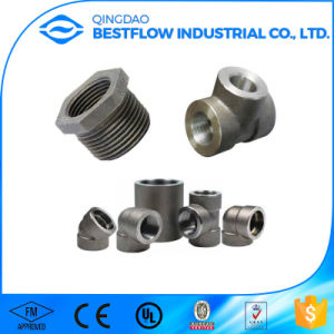 High Quality Control Galvanized Fmale NPT Threaded Forged Pipe Fittings pictures & photos