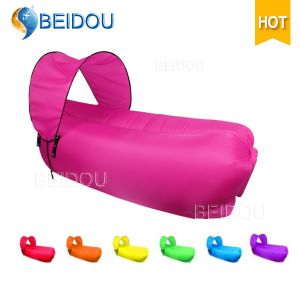 OEM Portable Camping Living Room Inflatable Sofa Bed Sleeping Lazy Bag