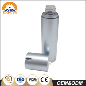 Silver Frosted Cosmetic Airless Bottle with Pump pictures & photos