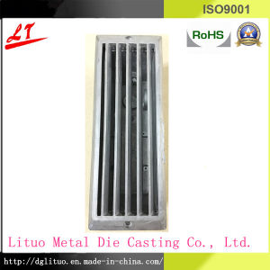 Hardware Aluminum Alloy Die Casting Brick Fragement with Top Cover and Louver Base pictures & photos