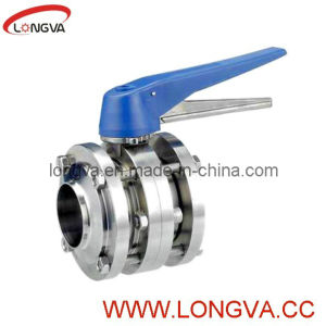 Stainless Steel 3PCS Butterfly Valve pictures & photos