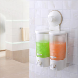 Water Dispenser with Suction Cup - Double pictures & photos
