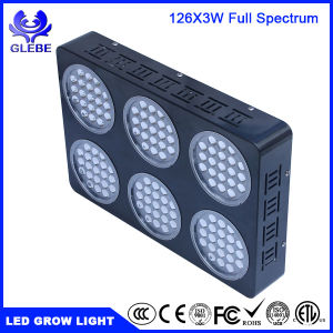Shenzhen 126PCS/LED3w LED Grow Light Full Spectrum for Indoor Plants Veg and Flower 5292lm pictures & photos