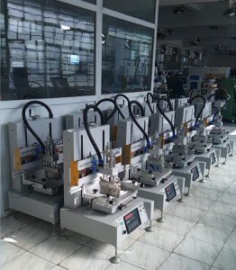Automatic Desktop Flat Textile Screen Printing Machine with T-Slot (TM-300PT) pictures & photos