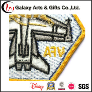 Newly Good Quality Garment Badge Embroidery Design pictures & photos